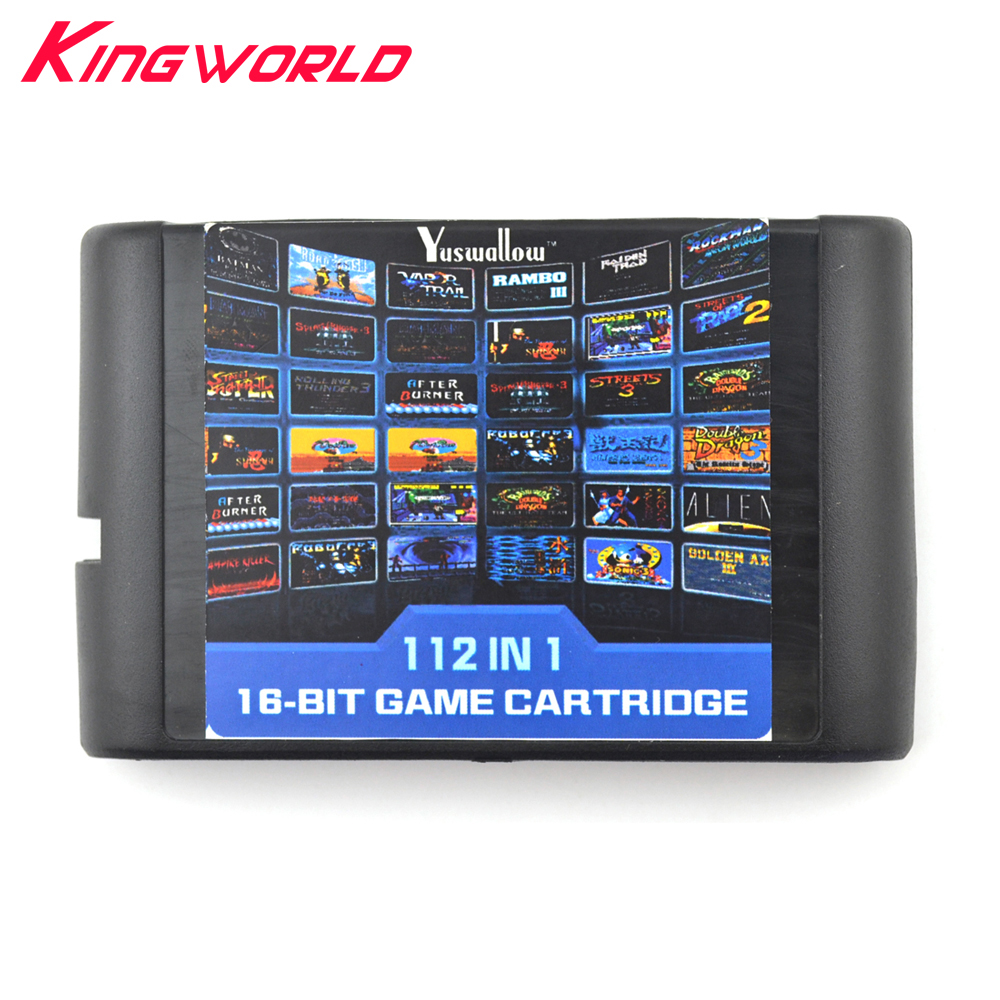 Xunbeifang 112 in 1 Game Cartridge 16 bit Game Card For Sega Mega Drive MD for Megadrive For Genesis console