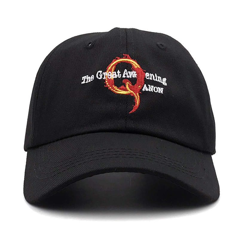 Unisex Q Anon Where We Go One We Go All Vintage Washed Dad Hat Popular Adjustable Baseball Cap