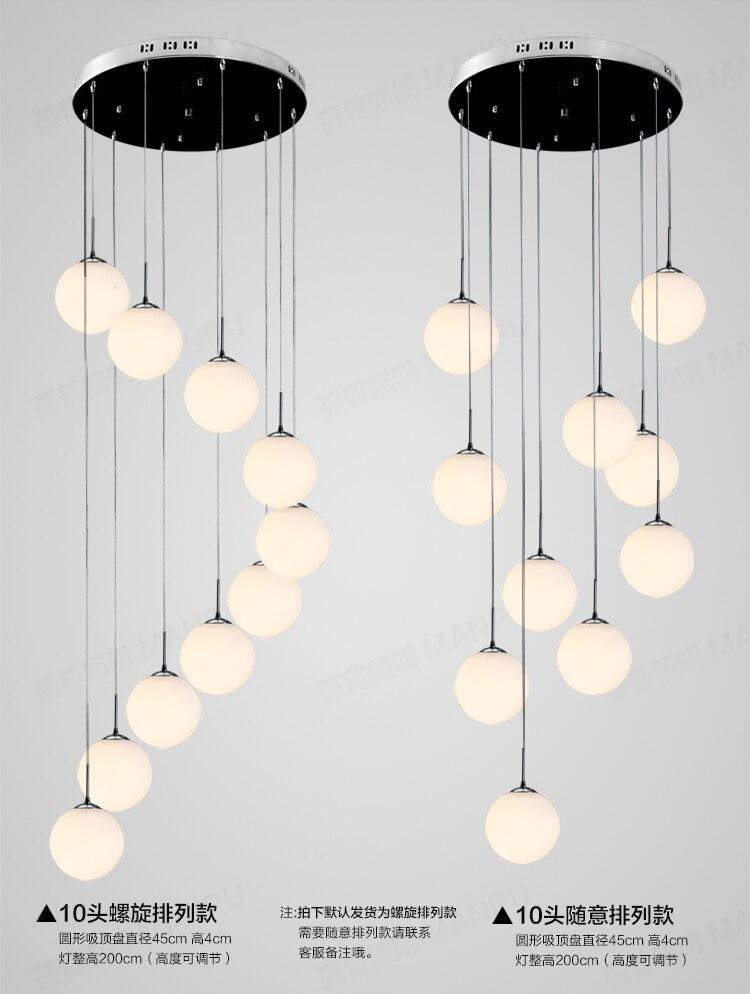vid luz escaleras y creativa moderna minimalista comedor general del complejo rotary escalera luces pendientes
