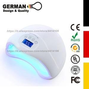 48W Gel Nail Lamp UV LED Dryer Curing Lamps Light Fingernail & Toenail Polish Art Professional for Salon or Nail Lovers