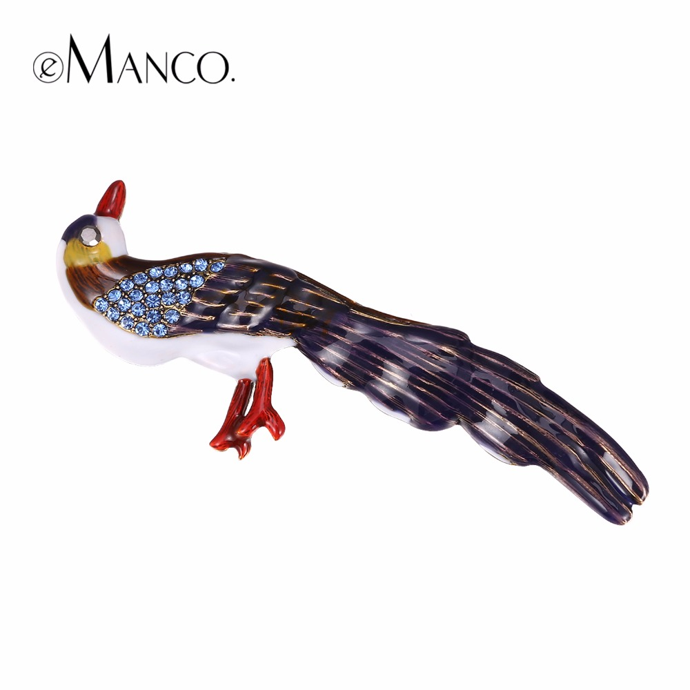 eManco Vintage Charming Cute Birds Brooch Gifts for Women Dress Brooches Pins Jewelry Chic Enamel 2017 Fashion Accessories brooch pins pink flamingo brooches for women love cute gift enamel lapel pin broche broches 2018 fashion jewelry accessories