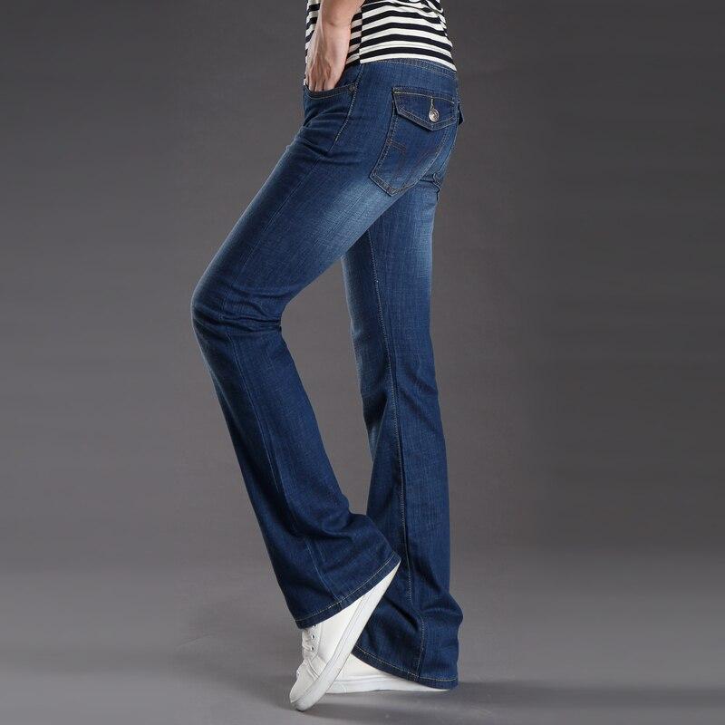 ICPANS Men's Flare   jeans   Pants Bell Bottom Cargo   Jeans   Slim Blue BootCut Flared Denim   Jeans   For Men Trousers Boot Cut 2019 New