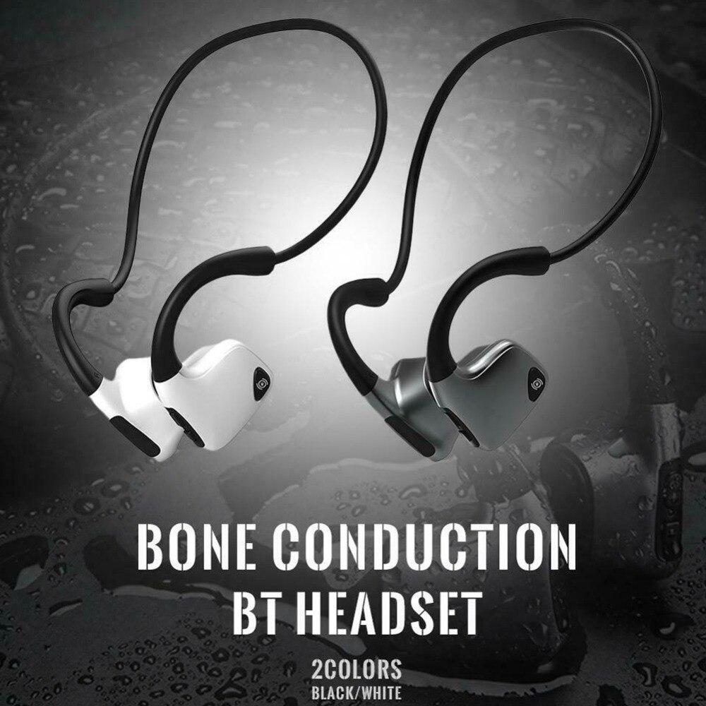 Nouveau casque Bluetooth à Conduction osseuse anti-transpiration intelligente 5.0 casque stéréo sans fil sport écouteurs pour iPhone Xiaomi