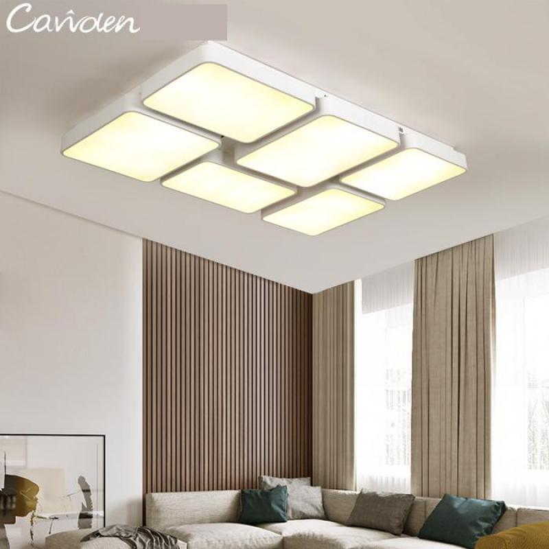 Amazing 48 72W Large Led Office Ceiling Lamp Black U0026 White Squares Commercial  Lighting School Living Room Study Work Light Luminaria Led In Ceiling Lights  From ...