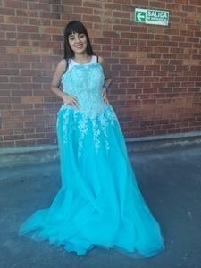 Image 4 - Favordear avordear nowa kolekcja Quinceanera 15 lat Vestidos De 15 Anos na szyję Blush Quinceanera sukienki