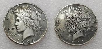 Zarysowania Batman Dark Knight Harvey moneta dwie twarze (1922) kopia tanie i dobre opinie DASHUMIAOCOIN Metal Antique sztuczna CASTING Chiny 2000-Present