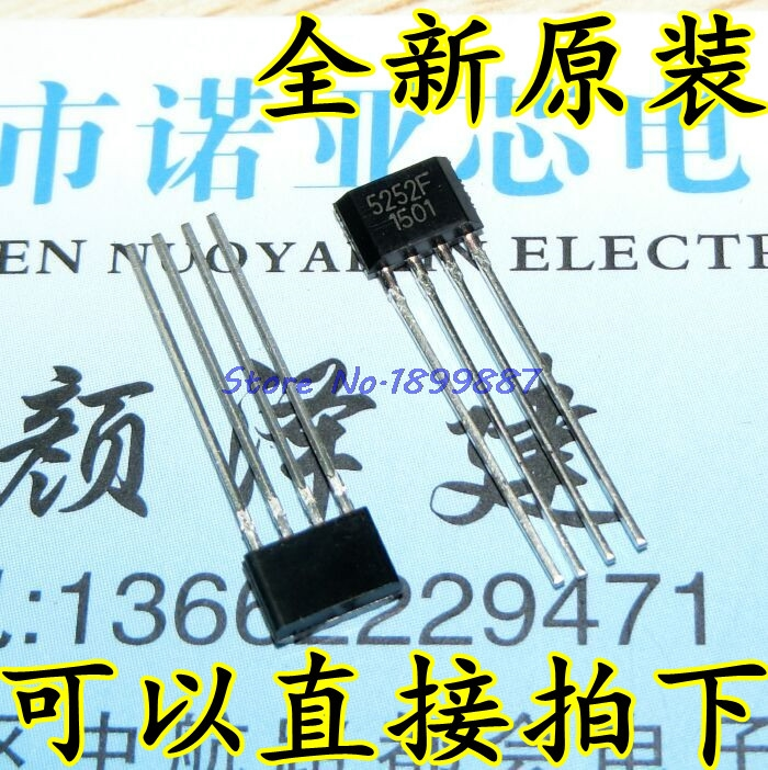 50pcs/lot QX5252F TO-92 QX5252 TO92 5252F In Stock
