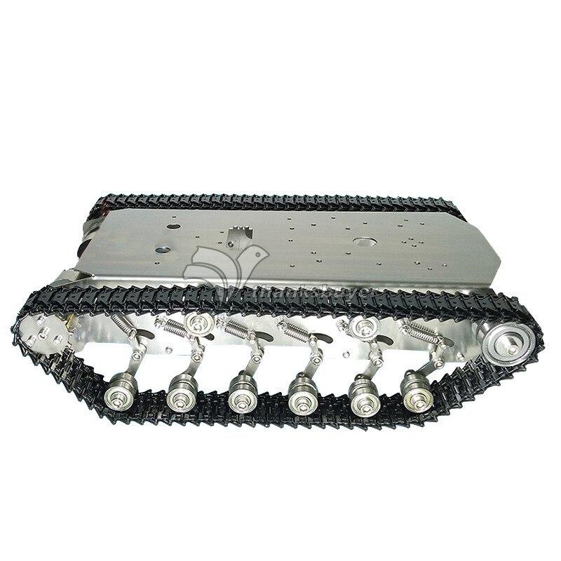 Seau en métal Intelligent de châssis de Robot de camion-citerne d'acier inoxydable de T600 avec l'amortisseur