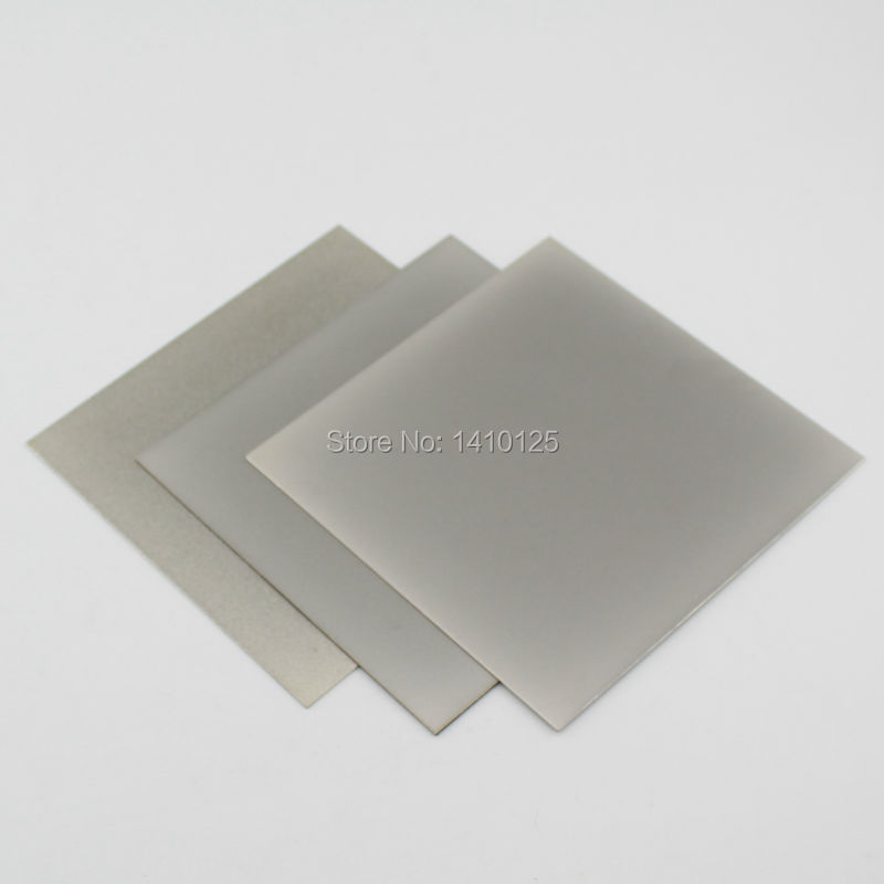 3Pcs 8 x8 inch Grit 240 Thin Square Sheet Flat Diamond Stone Sharpeners Lapidary and font
