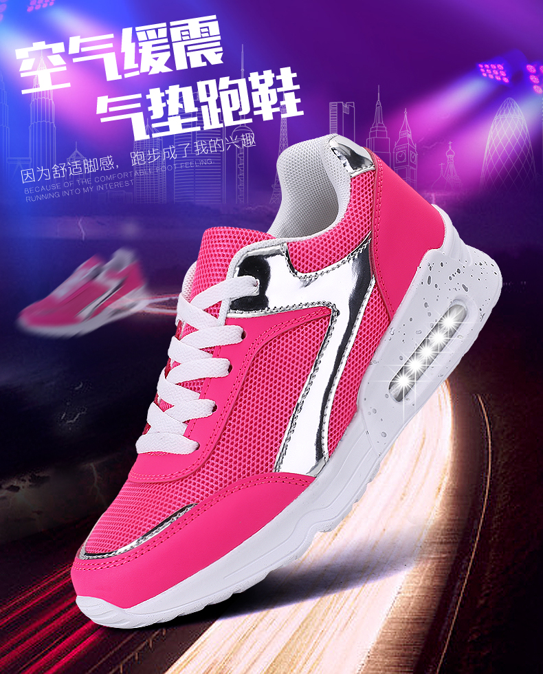 Air Mesh Women Casual Shoes Fashion Lace Up Shallow Shoes Woman Flat Heel Sport Trainers Size 35-40 Quality Walking Shoes ZD30 (1)