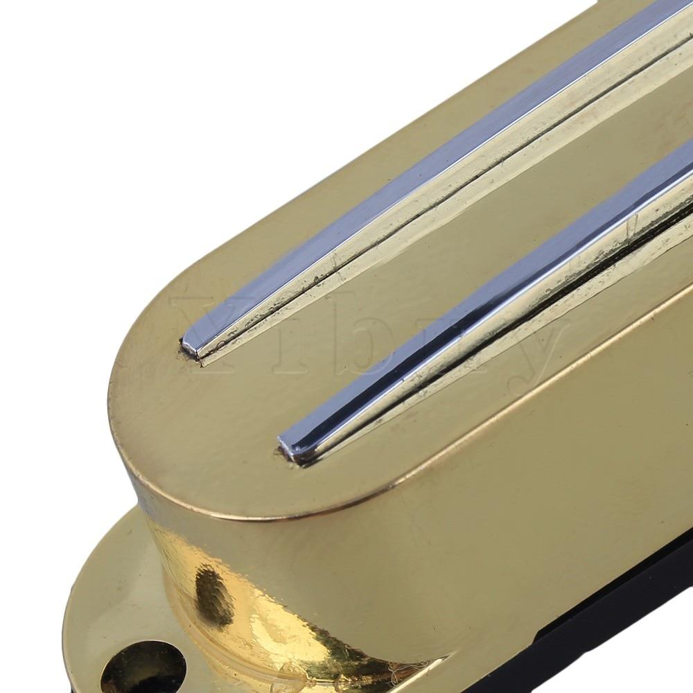 Dual Rail Dual Coil Pickup Magnetic Humbucker for Electric Guitar Gold