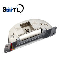 Electric Strike Lock for Access Control Fire Exit Emergency Door Panic Push Bar Fail Secure Fail Save Adjustable