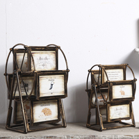 Retro rotate Resin ferris wheel Photo Frame dresses Creative Picture Frame Wedding Gifts Decoration