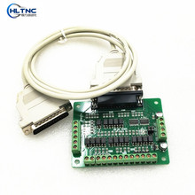 1 CNC 6 axis Breakout Board interface adapter 1 DB25 Parallel cable