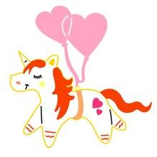 unicorn stencil بسعر الجملة - اشتري قطع unicorn stencil