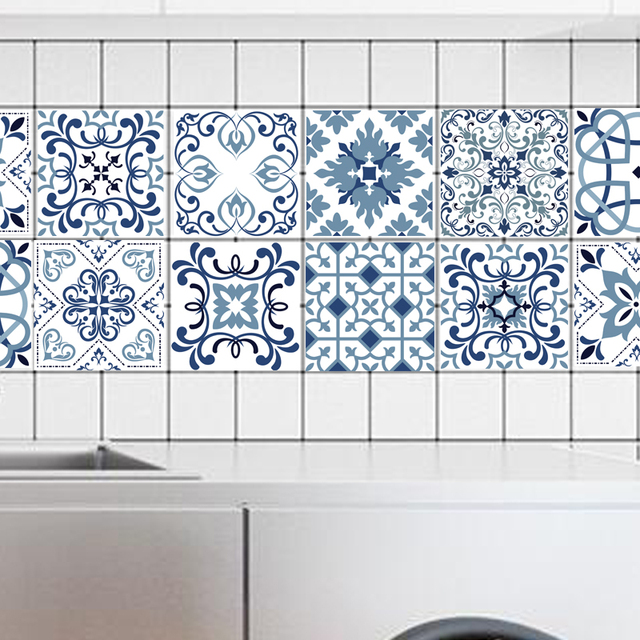 Stickers faience cuisine faience cuisine lapeyre for Carrelage mural azulejos
