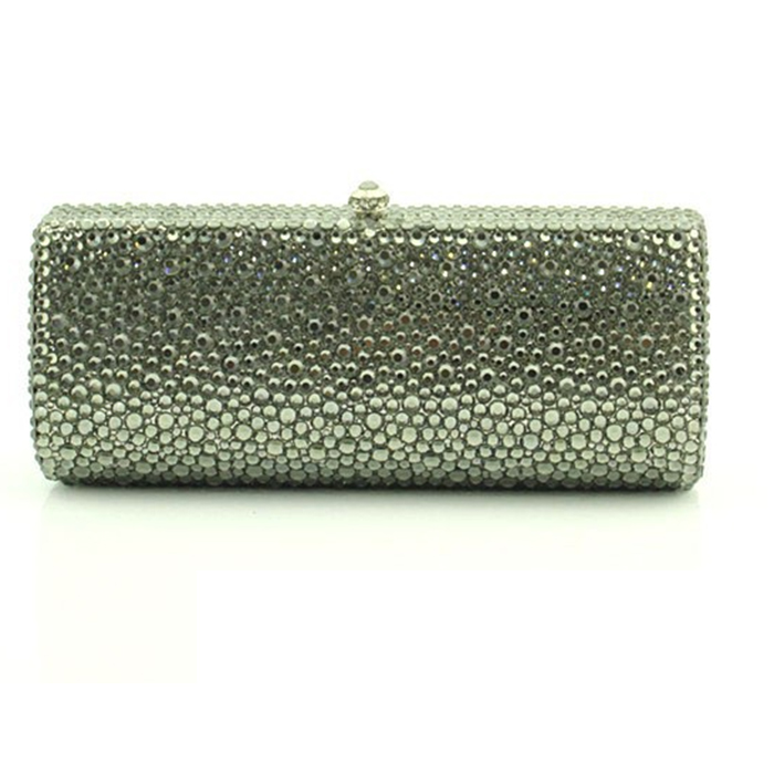 XIYUAN BRAND green Clutch Bags Luxury Diamond Evening Bag Women Crystal cocktail day Clutches Wedding Party Purse Chain Handbags luxury brand designer vintage diamond evening bag fashion women owl day clutch party dress handbags purse chain shoulder bags