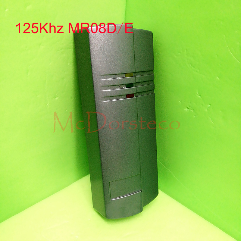 Access Control Proximity RFID Card Reader Wiegand 26/34 EM-ID 125KHz Reader&ABS Shell Waterproof Access Control System Reader metal rfid em card reader ip68 waterproof metal standalone door lock access control system with keypad 2000 card users capacity
