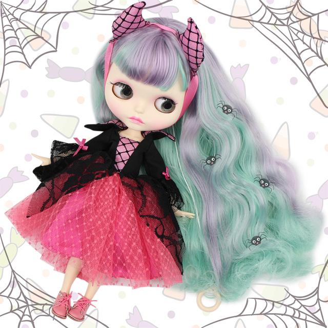 عروسک هالووین Neo Blythe یکسان دانشجویی