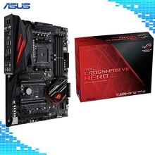 ASUS ROG Crosshair VII Hero (Wi-Fi) AMD Ryzen AM4 DDR4 M.2 USB 3.1 Gen2 ATX X470 Motherboard