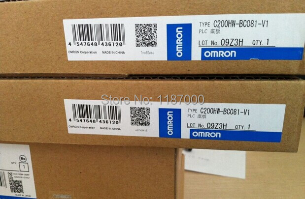 C200HW-BC081-V1 Brand NEW Original Well Retail Box Tested One Year Warranty