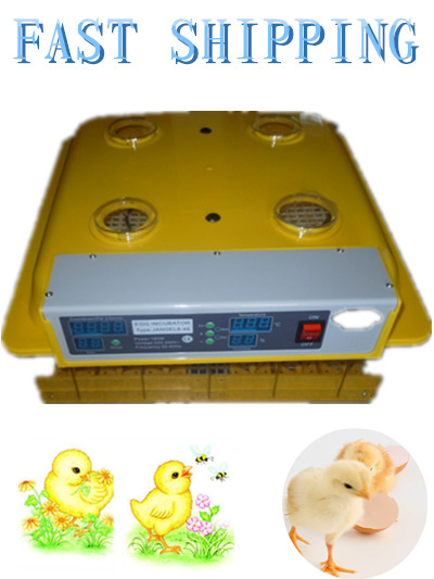 Top sale  Home and farm 48 egg incubator turning chicken duck goose egg automatic incubator hot sale home farm 48 egg incubator hatching chicken duck goose egg automatic incubator control temperature