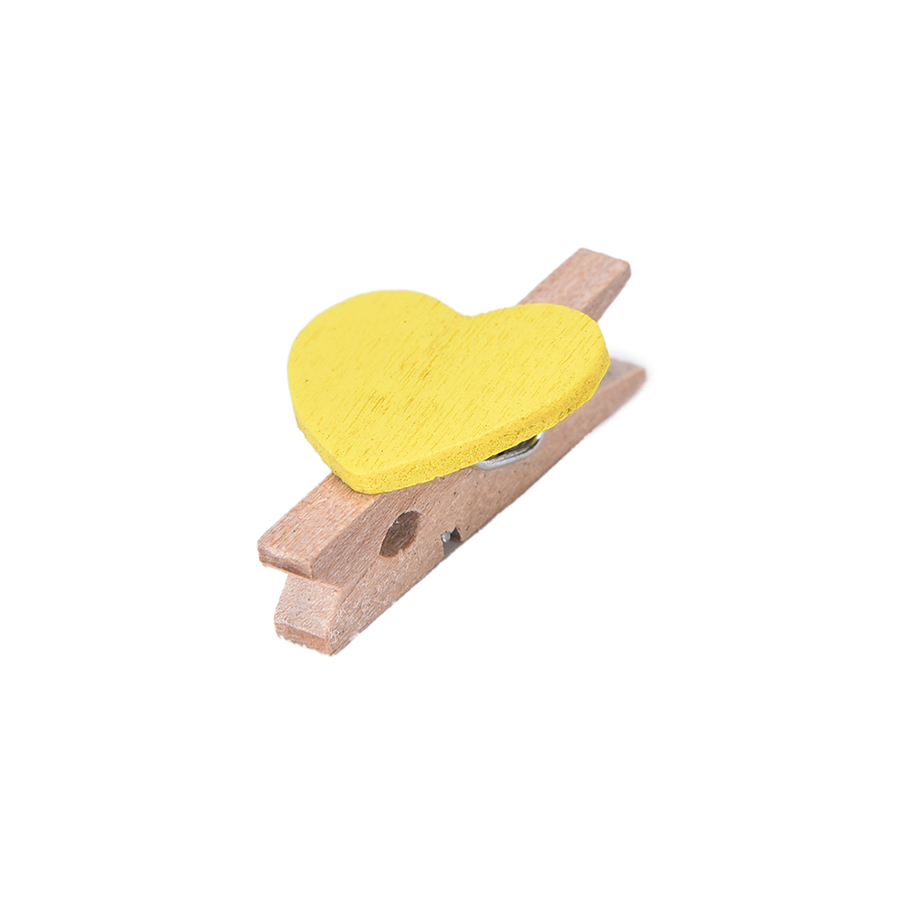 Office Binding Supplies Office & School Supplies Trustful 20pcs Colored Mini Love Heart Diy Clothes Paper Peg Clothespin Wooden Clothespin Office Supplies Craft Clips 3.5x0.7cm