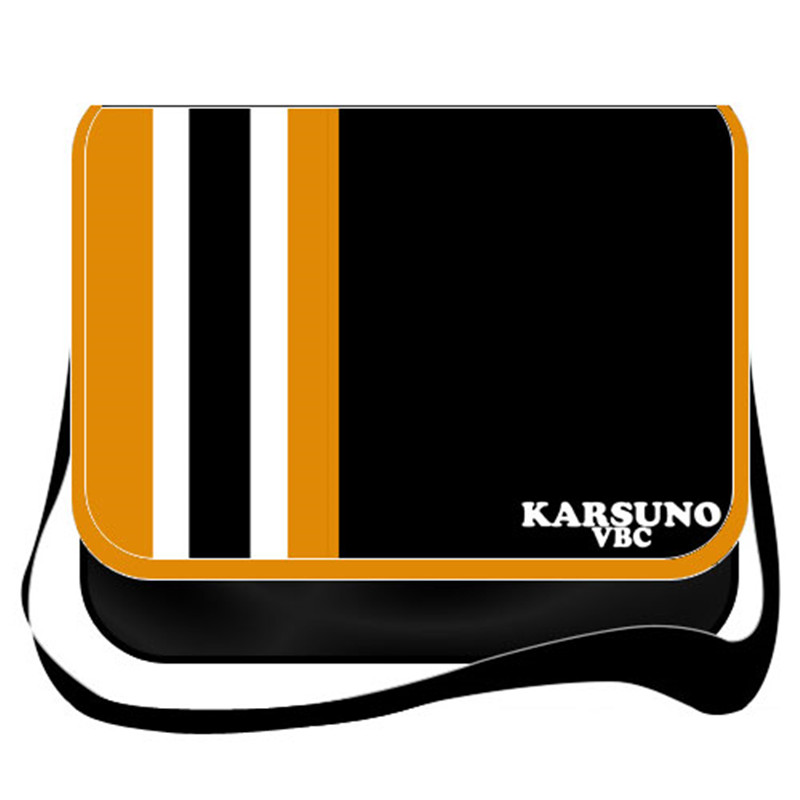 Haikyuu Hinata Syouyou Messenger Bag Haikiyu Cartoon Cosplay Canvas Schoolbag Travelling Bag Casual Shoulder Bags