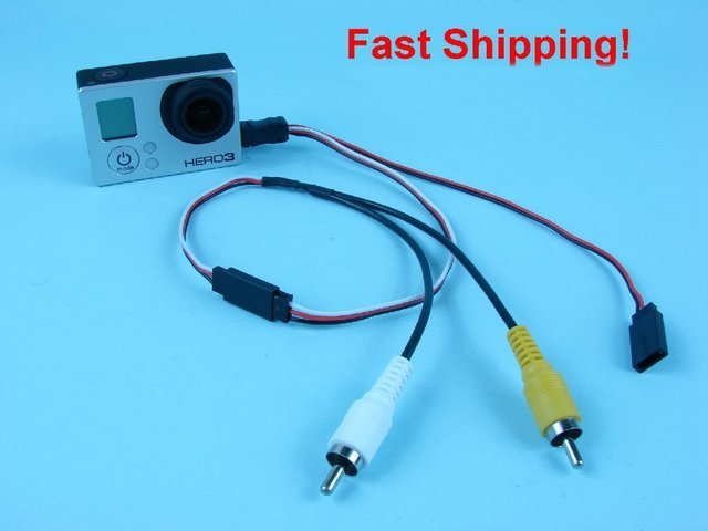 For gopro hero 3 camera mini usb to rca av out 5v dc in cable fpv for gopro hero 3 camera mini usb to rca av out 5v dc in cable cheapraybanclubmaster Image collections