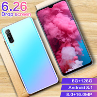 phone screen CHAOAI A50 Pro 6.26 Inch Water Drop Full Screen Global Version Smart Mobile Phone 6GB+128GB Android 8.1 (4)