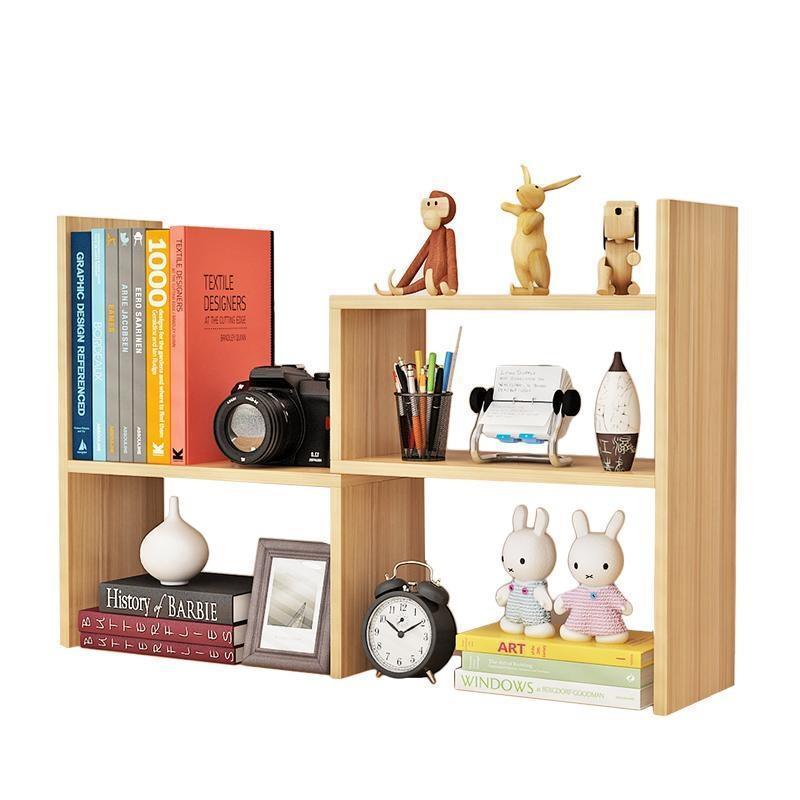 Creative Computer Desk Bookshelf Desktop Bookcase Child Easy Small Office Storage Rack Simple bookshelf racks simple creative desk small bookcase