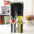 Girls 3d Print Cartoon cat Duck Children Leggings Trousers pants Korea style hip hop for girl clothes fashion student