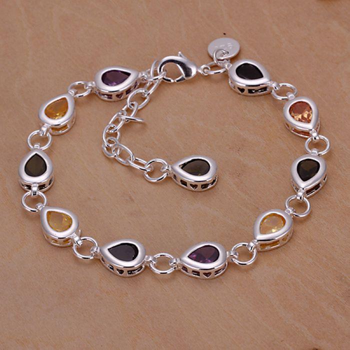 Wholesale For Women Men S Silver Plated Bracelet 925