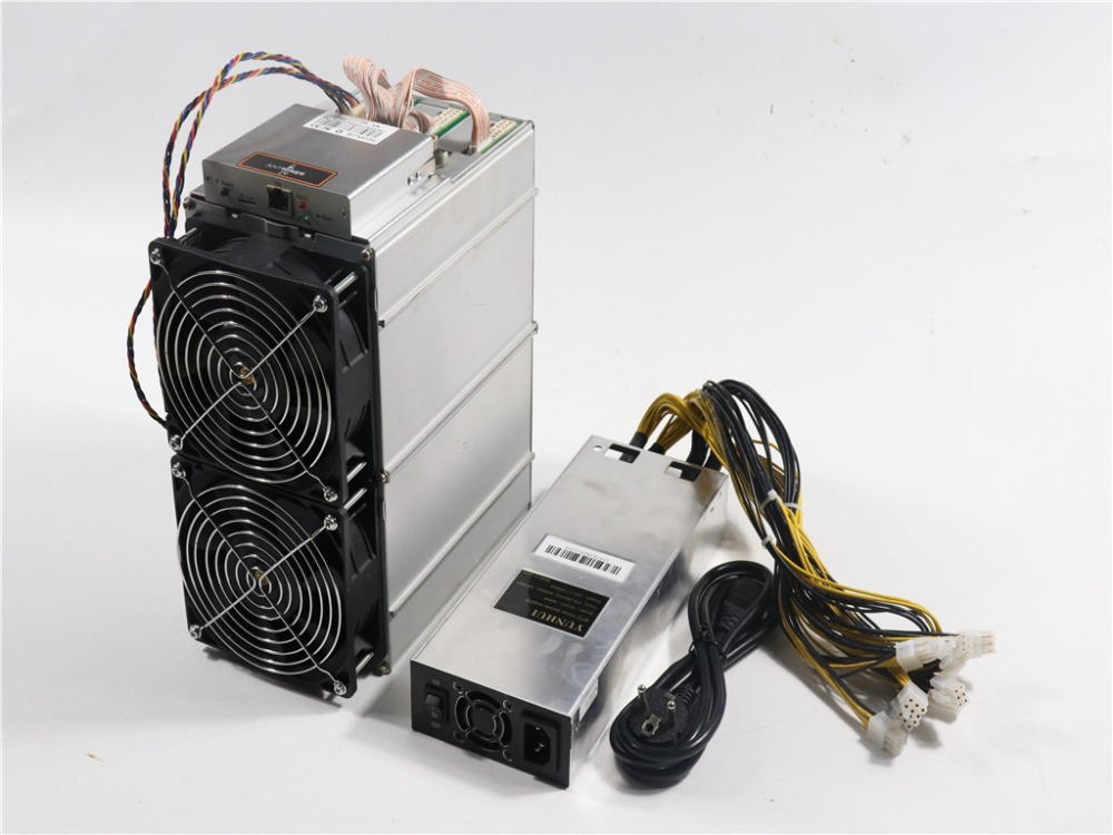 Used Asic Equihash Miner Antminer Z9 42k Sol/s With 1800W Power Supply Better Than Antminer Z9 Mini S9 Innosilicon A9