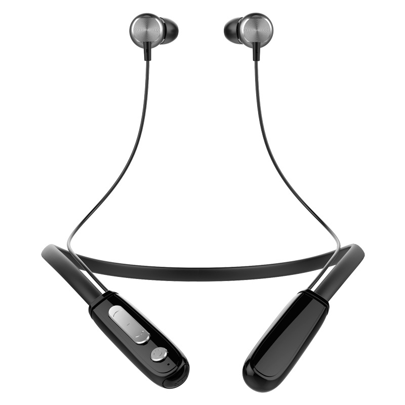 J18 Bluetooth 4.1 Headset Stereo Neckband Wireless Headphone in- ear Earbuds Sports Sweatproof Running Bluetooth Earphone Mic original dacom g18 sports bluetooth headset stereo auriculares wireless headphone running ear hook waterproof earphone with mic