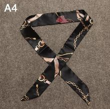 Silk Scarf Bags Handle Decoration
