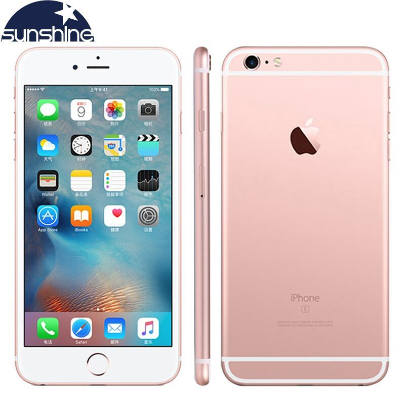 Original unlocked Apple iPhone 6S Mobiltelefon Dual Core 2GB RAM 16/64 / 128GB ROM 4.7 '' 12.0MP kamera 4G LTE Smartphone