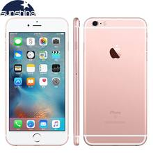 Original Unlocked Apple iPhone 6S Mobile phone Dual Core 2GB RAM 16/64/128GB ROM 4.7'' 12.0MP Camera 4G LTE Smartphone(China)