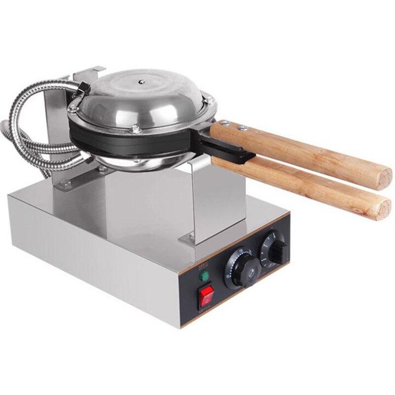 Hoodakang Commercial Electric egg bubble waffle maker machine hong kong eggettes bubble puff cake iron maker