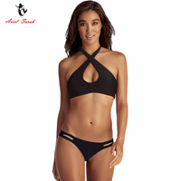 Ariel Sarah Brand 2017 Swimwear Women Swimsuit Push Up Swimming Suit For Women Trikini Black Sexy