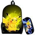 Pokemon Ash Ketchum Рюкзак Для Подростков Девушки Парни Школьные Сумки Pikacun Детская Школа Рюкзаки Pokeball Дети Лучший Подарок Мешок