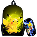 Pokemon Ash Ketchum Backpack For Teenagers Girls Boys School Bags Pikacun Children School Backpacks Pokeball Kids Best Gift Bag