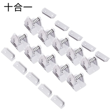 10 Pack Invisible Child Safety Locks, Invisible Drawer Lock with 3M Adhesive Upgrade Children's Multi-Function Safety Lock Chi fa 92 baby infant child multi function rotatable drawer safety locks white