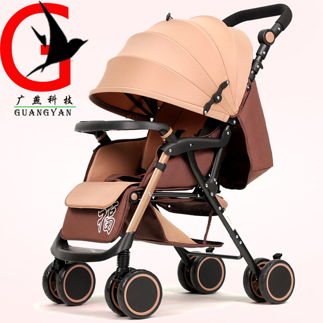 Stroller Baby Stroller Portable Lightweight Travel Strollers Easy Carry Foldable Pram Baby Carriage ZEL-A6-A