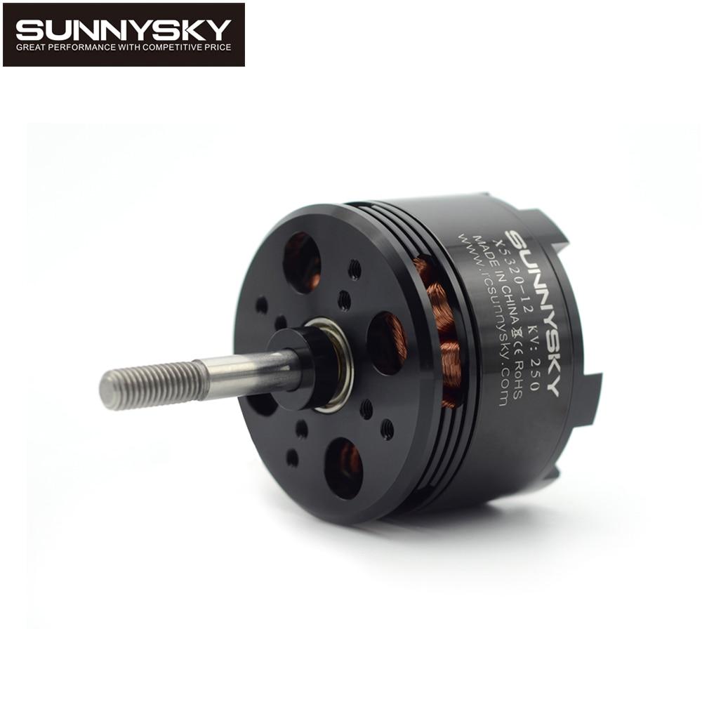 цена на 4pcs/lot original SunnySky X5320 210KV/250KV/370KV high effectiveness brushless motor for 3D stunt Drone