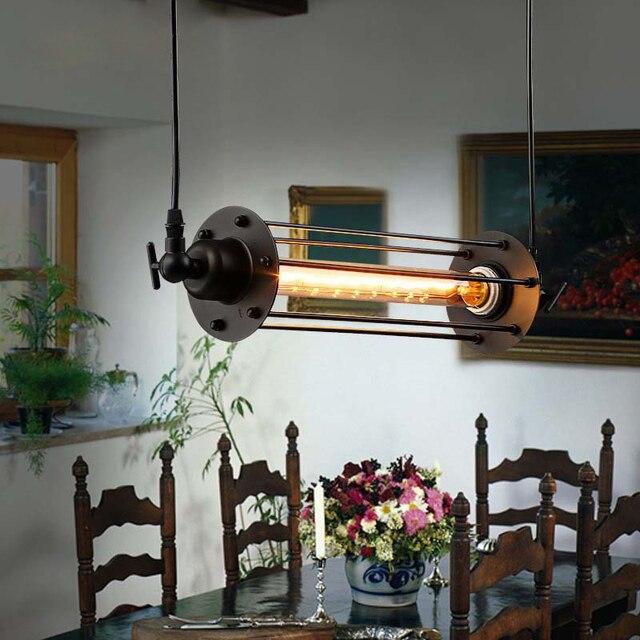 Edison Vintage Pendelleuchte Loft Schmiedeeisen Pendelleuchten