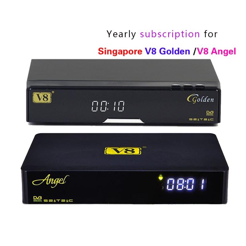 Renew Yearly v8 golden/v8 angel Blackbox C801 Plus Amiko mini watch all hd channels box set top box Singapore Cable TV black box xdevice blackbox 48 в новосибирске