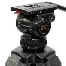 TRIX Teris V8 TS80 Fluid Head Professional Tripod Head 75mm bowl Load 8KG for Video tripod HDV C300 BMCC camera Tilta rig