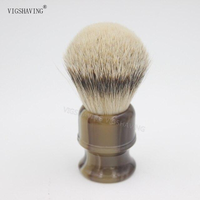 Resin Handle Silvetip Badger Hair Shaving Brush