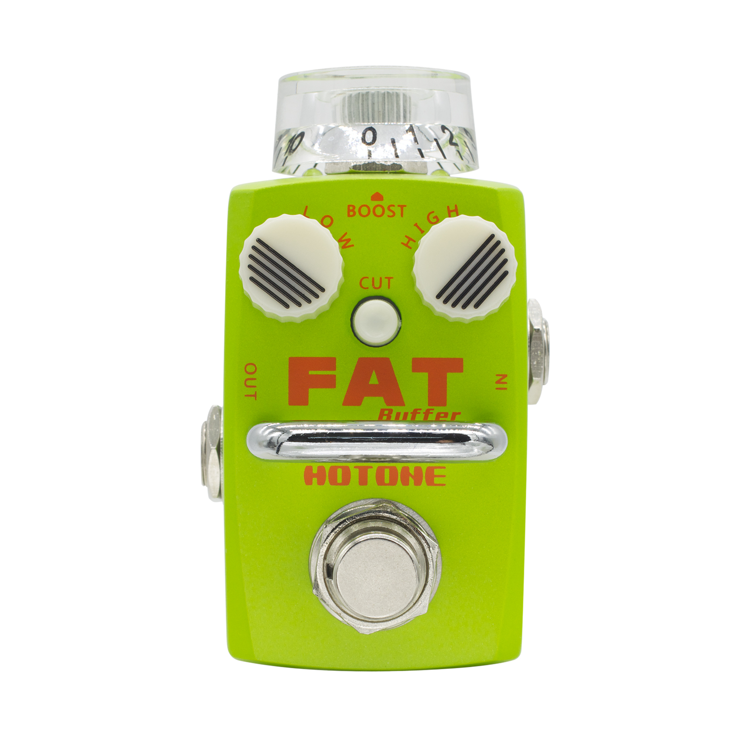 Hotone Fat Buffer Preamp Guitar Effect Pedal for Clean Boost Effects for Electric Guitar True Bypass ckk electronics soul echo drive fat boost tape delay guitar effect pedal